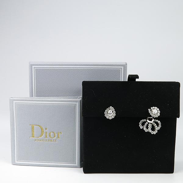 Dior(크리스챤디올) JMDS94003 18K 화이트골드 ARCHI DIOR 다이아몬드(1.74케럿) 귀걸이 [강남본점]