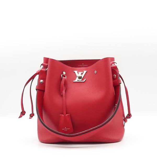 Louis Vuitton(루이비통) M54679 레드 송아지 가죽 락미 버킷 숄더백 겸 크로스백 [강남본점]
