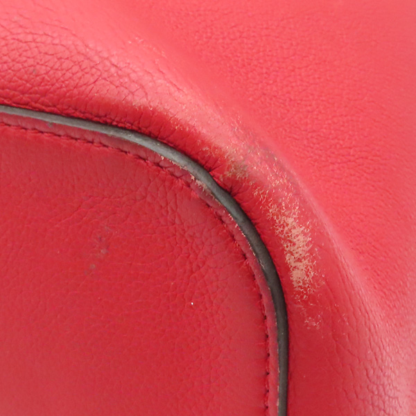 Louis Vuitton(루이비통) M54679 레드 송아지 가죽 락미 버킷 숄더백 겸 크로스백 [강남본점] 이미지4 - 고이비토 중고명품