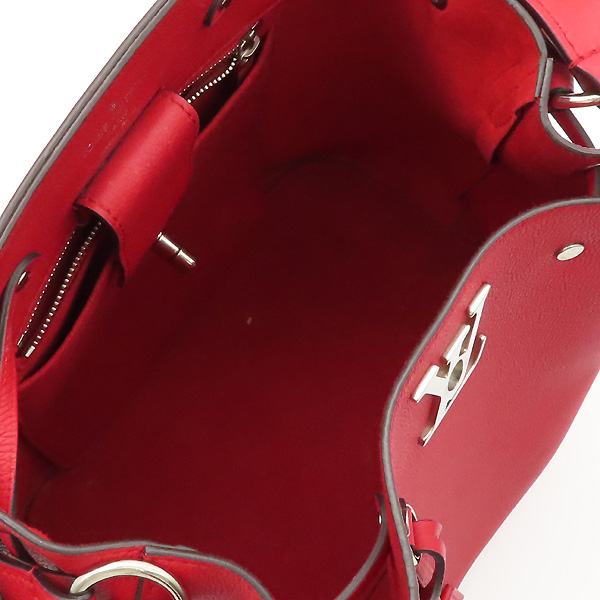 Louis Vuitton(루이비통) M54679 레드 송아지 가죽 락미 버킷 숄더백 겸 크로스백 [강남본점] 이미지5 - 고이비토 중고명품