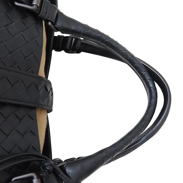BOTTEGAVENETA(보테가베네타) 171265 블랙 컬러 인트레치아토 레더 로마 라지 사이즈 토트백 [인천점] 이미지5 - 고이비토 중고명품