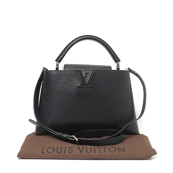 Louis Vuitton(루이비통) M42242 느와르 토뤼옹 레더 카퓌신(카푸신) PM 탑핸들 토트백 + 숄더스트랩 2WAY [부산서면롯데점]