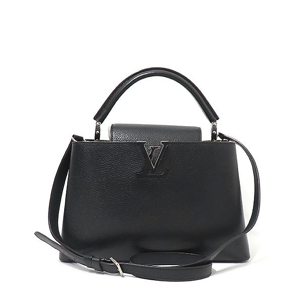 Louis Vuitton(루이비통) M42242 느와르 토뤼옹 레더 카퓌신(카푸신) PM 탑핸들 토트백 + 숄더스트랩 2WAY [부산서면롯데점] 이미지2 - 고이비토 중고명품