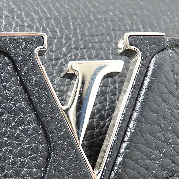 Louis Vuitton(루이비통) M42242 느와르 토뤼옹 레더 카퓌신(카푸신) PM 탑핸들 토트백 + 숄더스트랩 2WAY [부산서면롯데점] 이미지4 - 고이비토 중고명품