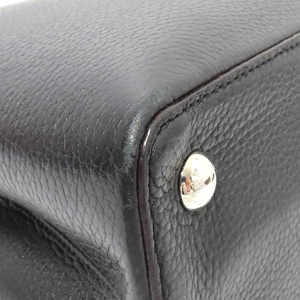 Louis Vuitton(루이비통) M42242 느와르 토뤼옹 레더 카퓌신(카푸신) PM 탑핸들 토트백 + 숄더스트랩 2WAY [부산서면롯데점] 이미지6 - 고이비토 중고명품