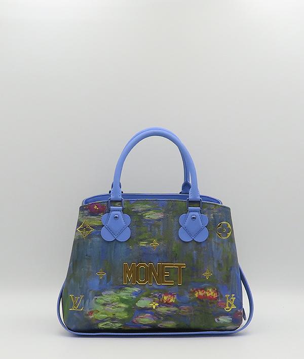 Louis Vuitton(루이비통) M43378 MONET 모네 마스터즈 컬렉션 몽테뉴 MM 토트백 + 숄더스트랩 [분당정자점] 이미지2 - 고이비토 중고명품