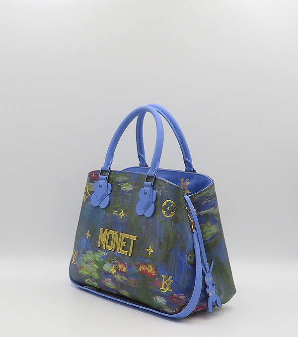 Louis Vuitton(루이비통) M43378 MONET 모네 마스터즈 컬렉션 몽테뉴 MM 토트백 + 숄더스트랩 [분당정자점] 이미지3 - 고이비토 중고명품