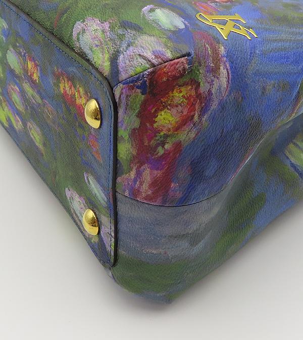Louis Vuitton(루이비통) M43378 MONET 모네 마스터즈 컬렉션 몽테뉴 MM 토트백 + 숄더스트랩 [분당정자점] 이미지4 - 고이비토 중고명품