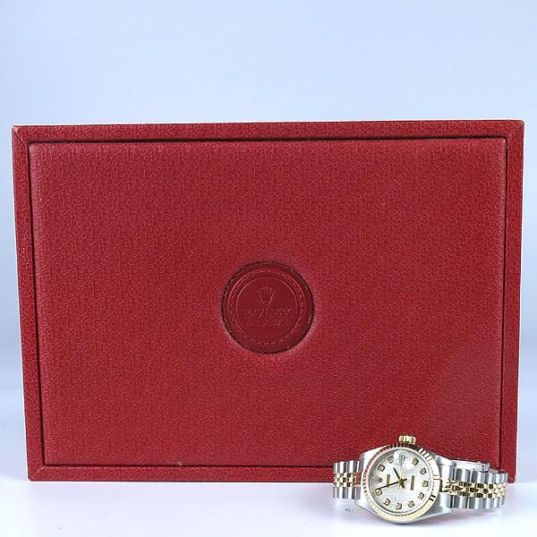 Rolex(로렉스) 79173 18K 콤비 10포인트 다이아 컴퓨터판 DATE JUST(데이트 저스트) 여성용 시계 [강남본점]