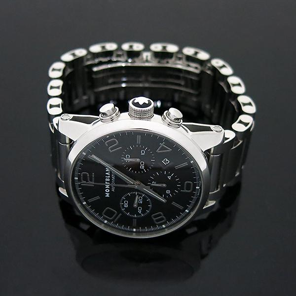 Montblanc(몽블랑) 7069 TIMEWALKER(타임워커) 크로노그래프 오토매틱 스켈레톤 스틸 남성용 시계  [부산센텀본점] 이미지4 - 고이비토 중고명품