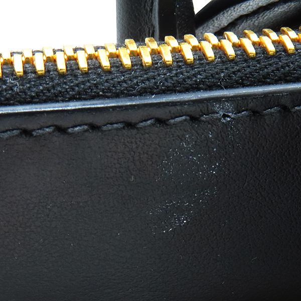 Prada(프라다) 1BA103 SAFFIANO 사피아노 블랙 파라디그마 금장 로고 토트백 + 숄더스트랩 2WAY [인천점] 이미지5 - 고이비토 중고명품