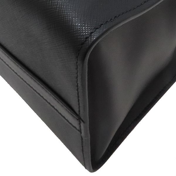 Prada(프라다) 1BA103 SAFFIANO 사피아노 블랙 파라디그마 금장 로고 토트백 + 숄더스트랩 2WAY [인천점] 이미지6 - 고이비토 중고명품