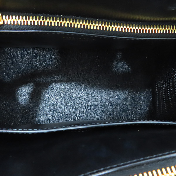Prada(프라다) 1BA103 SAFFIANO 사피아노 블랙 파라디그마 금장 로고 토트백 + 숄더스트랩 2WAY [인천점] 이미지7 - 고이비토 중고명품