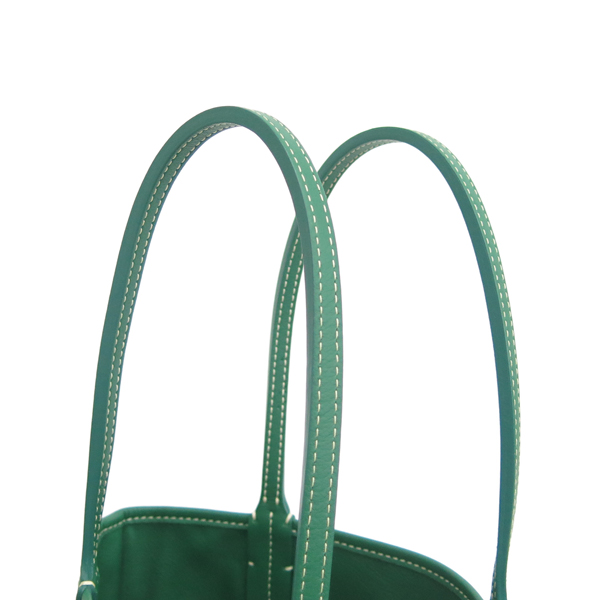GOYARD(고야드) 스페셜 그린 컬러 PVC 앙주 ANJOU MINI 양면 숄더백 + 보조파우치 [동대문점] 이미지3 - 고이비토 중고명품