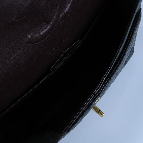 Chanel(샤넬) 금장 COCO 로고 블랙 컬러 램스킨 클래식 M 미듐 사이즈 체인 숄더백 [강남본점] 이미지7 - 고이비토 중고명품
