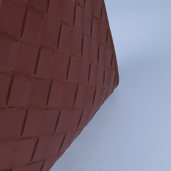 BOTTEGAVENETA (보테가베네타) 603432 브라운컬러 와일드 클래식 우븐 도큐먼트 케이스 클러치 [강남본점] 이미지6 - 고이비토 중고명품