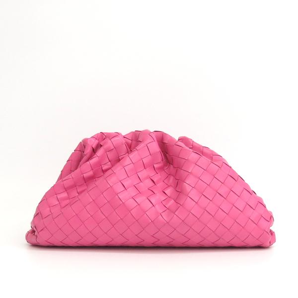 BOTTEGAVENETA(보테가베네타) 576175 VCPP05608 핑크 컬러 인트레치아토 나파 레더 클러치 [동대문점] 이미지2 - 고이비토 중고명품