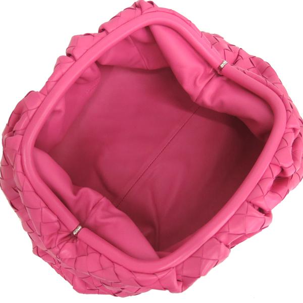 BOTTEGAVENETA(보테가베네타) 576175 VCPP05608 핑크 컬러 인트레치아토 나파 레더 클러치 [동대문점] 이미지5 - 고이비토 중고명품