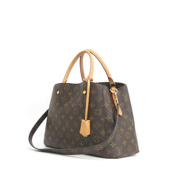 Louis Vuitton(루이비통) M41056 몽테뉴 모노그램 캔버스 MM 토트백 + 숄더스트랩 2WAY [동대문점] 이미지3 - 고이비토 중고명품