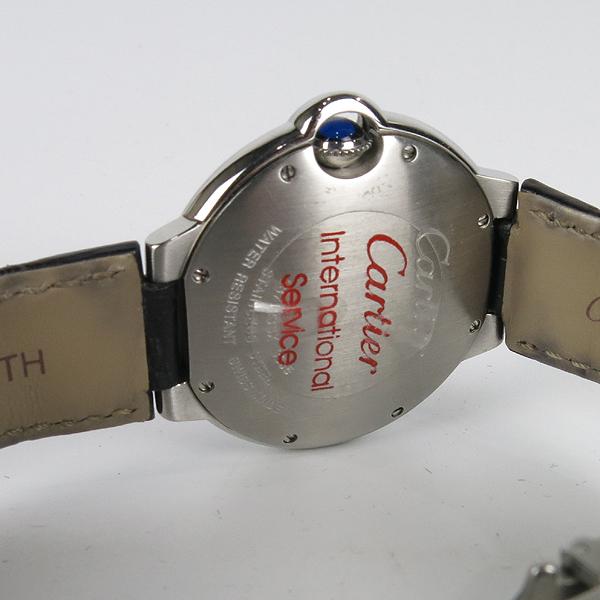 Cartier(까르띠에) W69017Z4 발롱블루 드 까르띠에 오토매틱 36MM 가죽밴드 시계 [강남본점] 이미지5 - 고이비토 중고명품