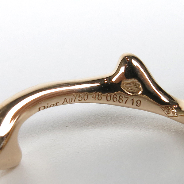 Dior(크리스챤디올) JBDR95003 BOIS DE ROSE 18K 로즈골드 반지 - 8호 [강남본점] 이미지4 - 고이비토 중고명품
