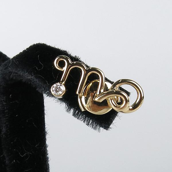Dior(크리스챤디올) JOUI95031 OUI 18K 옐로우 골드 다이아 귀걸이 [강남본점] 이미지4 - 고이비토 중고명품