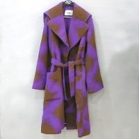 펜디 알파카 코트